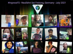 Teilnehmer Collage